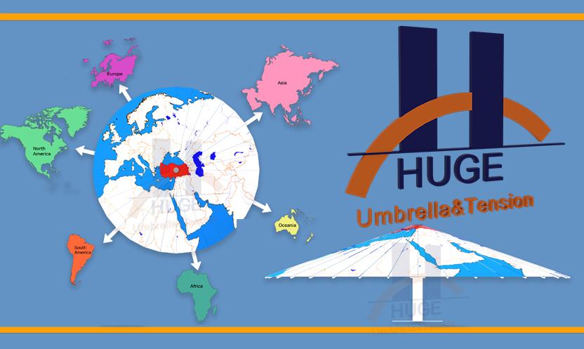 Distributörlük Huge Dev Şemsiye