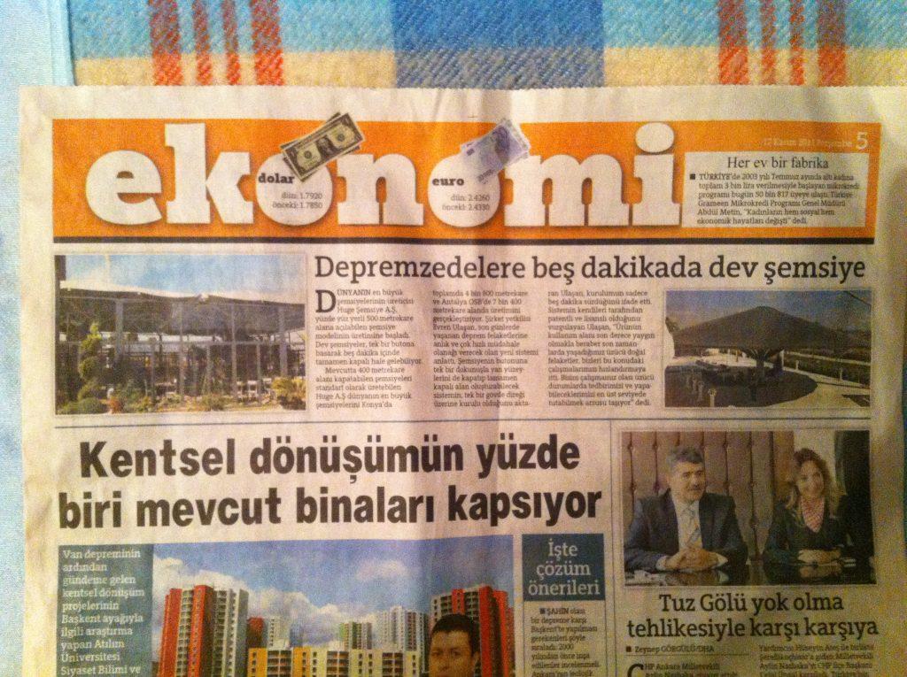 Hürriyet Gazetesi Ekonomi haberi