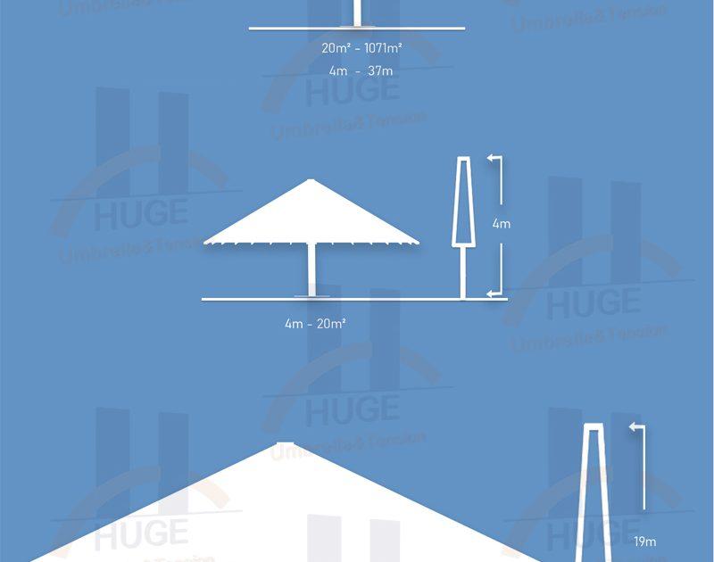 Klasik Huge Dev Şemsiye Type 1