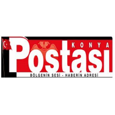 Konya Postası Logo Huge Dev Şemsiye