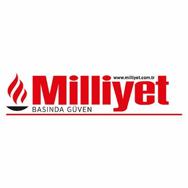 Milliyet Logo Huge Dev Şemsiye