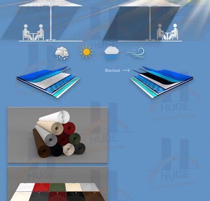 Mimari Membran Huge Dev Şemsiye