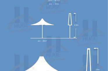 Radüs Form Klasik Huge Dev Şemsiye Type 2