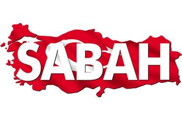 Sabah Logo Huge Dev Şemsiye